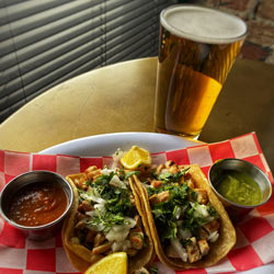 Embers tacos and beer