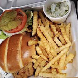 Paradise Bay Bar & Grille sandwich